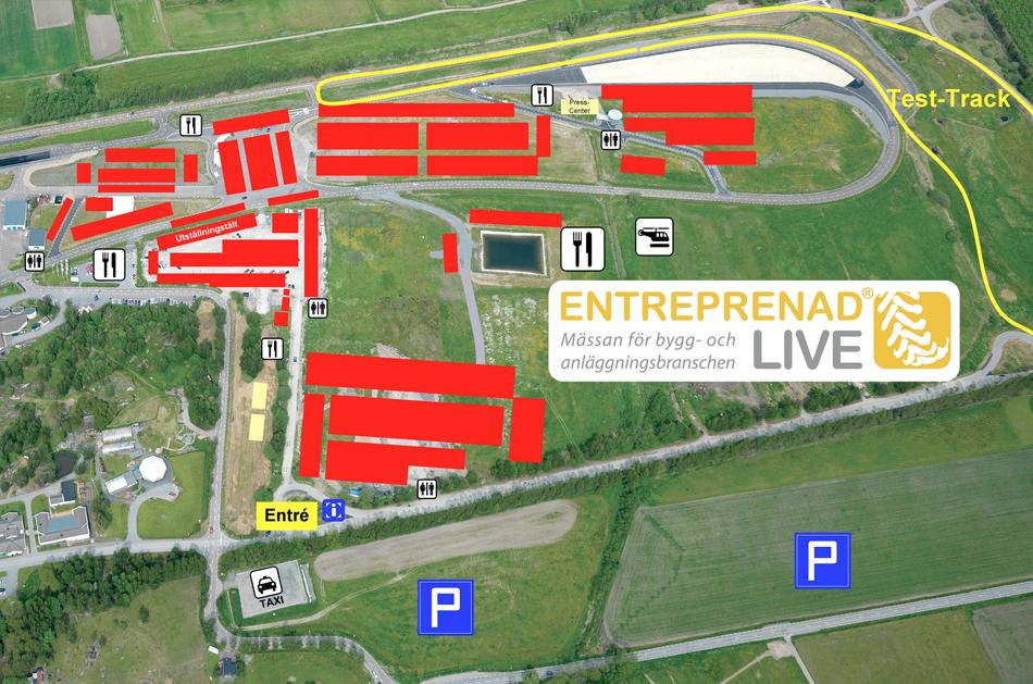 Schakt i Väst bygger området kring Entreprenad Live.