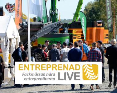 Boka Entreprenad Live den 8-10 september