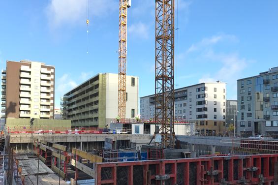 Het arbetsmarknad för bygg och anläggning