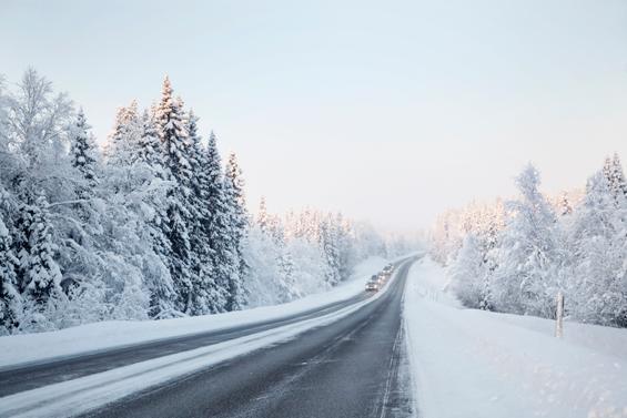 Allt mindre salt på svenska vägar