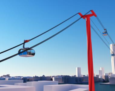 Då kan linbanan börja byggas i Göteborg
