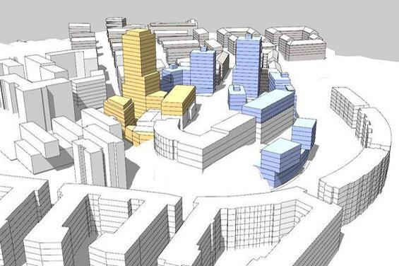 Eriksberg kan få 600 nya bostäder