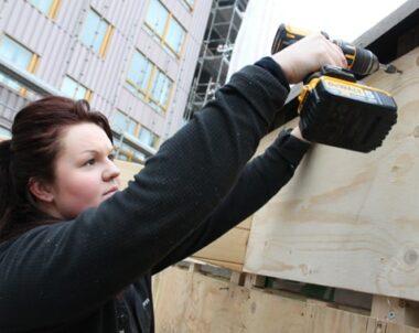 Byggbranschens kvinnor blir fler