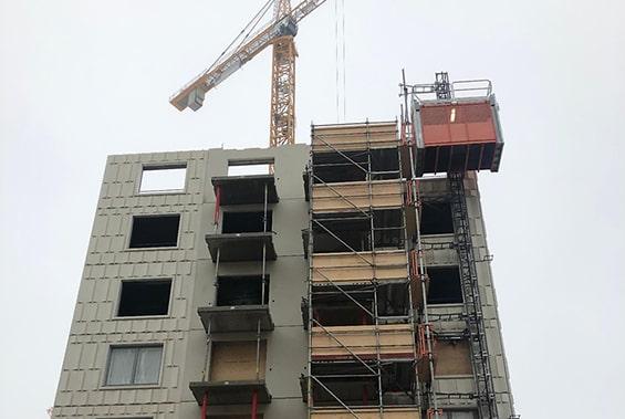 Färre bostäder nästa år
