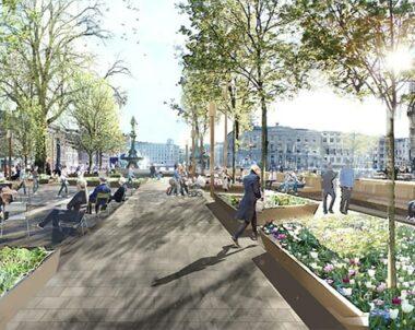 Central mötesplats rustas upp i Göteborg