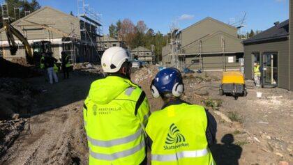 Allvarliga brister på byggarbetsplatserna