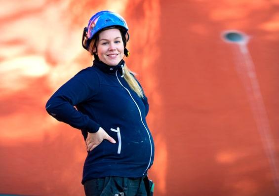 Värdefull info för gravida byggare