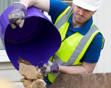 Ökade krav på återvinning av bygg- och rivavfall