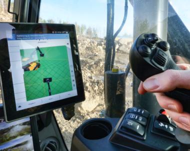 Grävsystem ska lyfta maskinförarutbildning