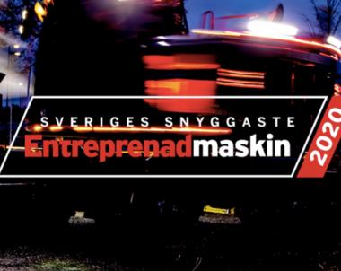 Full fart framåt – Sveriges snyggaste entreprenadmaskin ska utses!