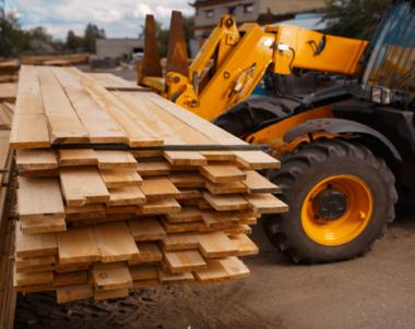Byggmaterialkostnader under lupp