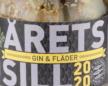 Årets Sill med smak av Gin & Fläder