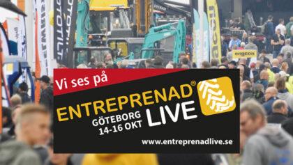 Boka in Entreprenad Live den 14-16 oktober